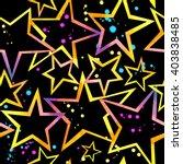 star seamless pattern.... | Shutterstock . vector #403838485