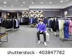 luxury and fashionable brand... | Shutterstock . vector #403847782