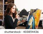 Creative Pensive  Painter...