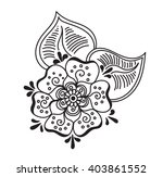 vector abstract pattern of... | Shutterstock .eps vector #403861552