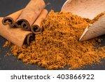 Cinnamon Sticks With Powder On...