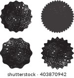 grunge stamps collection ... | Shutterstock .eps vector #403870942