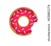 Vector Donut Icon. Sugar Donut...