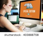 special edition exclusive... | Shutterstock . vector #403888708