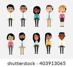 illustration of characters... | Shutterstock .eps vector #403913065