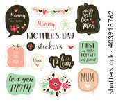 planner stickers for mother's... | Shutterstock .eps vector #403918762