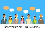 call center operators team ... | Shutterstock .eps vector #403933462
