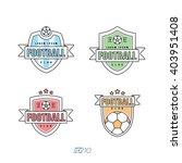 soccer  football club vector... | Shutterstock .eps vector #403951408