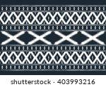 geometric ethnic oriental ikat... | Shutterstock .eps vector #403993216