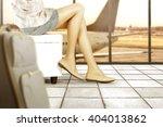 airport interior  | Shutterstock . vector #404013862