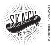 "skate sign with word ""skate""... 