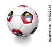 3d rendering of a football... | Shutterstock . vector #404028265