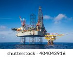 oil and gas drilling rig work... | Shutterstock . vector #404043916