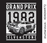 racing sport silverstone... | Shutterstock .eps vector #404044972
