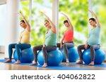 pregnancy  sport  fitness ... | Shutterstock . vector #404062822