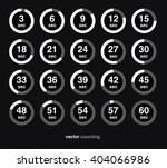 collection of vector icons with ... | Shutterstock .eps vector #404066986