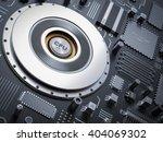processor  microchip ...   Shutterstock . vector #404069302
