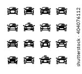 car icons | Shutterstock .eps vector #404076112