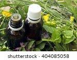 alternative medicine concept... | Shutterstock . vector #404085058