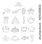 professional collection of... | Shutterstock . vector #404100832
