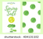 sale poster  cards  banner ... | Shutterstock .eps vector #404131102