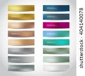big set of trendy vector... | Shutterstock .eps vector #404140078