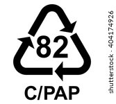 composites recycling symbol c... | Shutterstock .eps vector #404174926