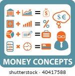 money concepts. vector | Shutterstock .eps vector #40417588