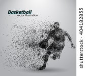 Basketball Player Of Particle....