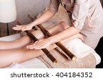 woman having anti stress... | Shutterstock . vector #404184352
