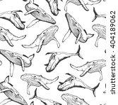 vector. seamless hand drawn... | Shutterstock .eps vector #404189062