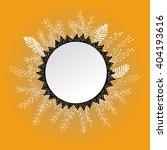 vector banner with grass and... | Shutterstock .eps vector #404193616