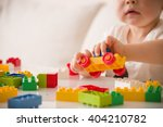 close up of child's hands... | Shutterstock . vector #404210782