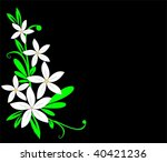 floral collection | Shutterstock .eps vector #40421236