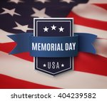 memorial day background... | Shutterstock .eps vector #404239582