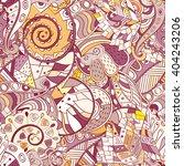 tracery seamless calming...   Shutterstock .eps vector #404243206