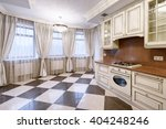 the interior of the kitchen | Shutterstock . vector #404248246