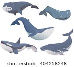 big set of cartoon cute and... | Shutterstock .eps vector #404258248
