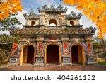 entrance of citadel  hue ... | Shutterstock . vector #404261152