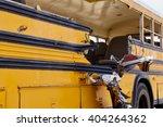 School Bus Damage Vehicle...