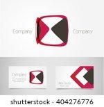 abstract logo design template | Shutterstock .eps vector #404276776