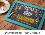 keep learning concept | Shutterstock . vector #404278876