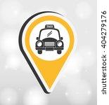 taxi service design  | Shutterstock .eps vector #404279176