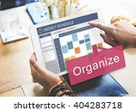 weekly schedule reminder... | Shutterstock . vector #404283718