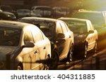cars traffic closeup. urban... | Shutterstock . vector #404311885