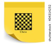 chess board and pieces...   Shutterstock .eps vector #404314252