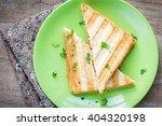 Mushroom Cheese Sandwich On...