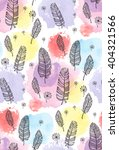 print  seamless pattern with... | Shutterstock .eps vector #404321566