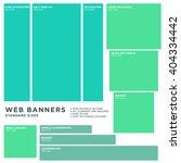 standard size vector web... | Shutterstock .eps vector #404334442
