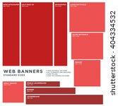 standard size vector web... | Shutterstock .eps vector #404334532